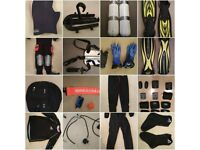 HUGE assortment of high quality diving equipment