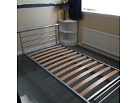 Jay-Be Single Bed Frame & Mattress