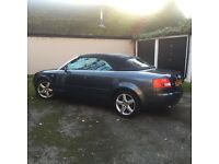 Audi A4 Cabriolet 2002 2.4 V6 Petrol