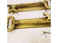 Key door handles