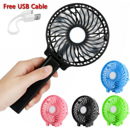 Foldable Portable Personal Handheld USB Mini Fan Cooling 3 S
