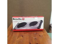 Breville two ring hob.