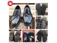 Vintage Oakridge Men's Black Oxford Shoes ᵃⁿᵈ Flip Flops