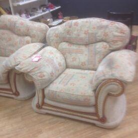 2 2 1 biege cream sofa
