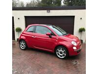 Fiat 500 Lounge 1.3 M-Jet Diesel, ONLY 44K MILES! High Spec! 60MPG, 1Yr MOT, FSH, Stunning, Serviced