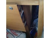 3 drawer wooden office cabinet or bed side Cabinet