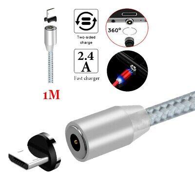 Cable Magnético USB micro Carga Rápida Conector Móvil SonyPS4