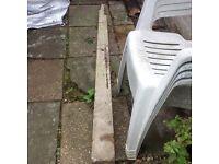 Concrete post approx 6 feet high