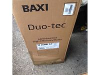 NEW BAXI DUO TEC 28 epr wall mounted COMBI BOILER