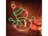 9 Outside Christmas lights