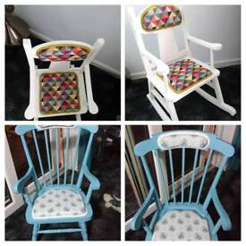 Childs rocking chairs