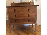 Antique lovely drawers.