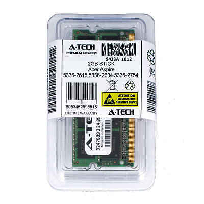 2GB SODIMM Acer Aspire 5336-2615 5336-2634 5336-2754 5336-2864 Ram Memory