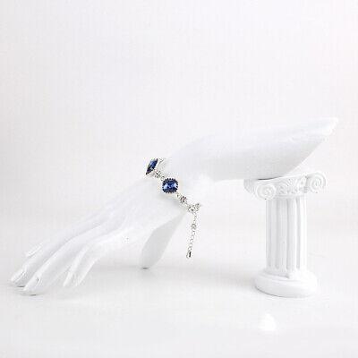Resin Jewelry Ring Bracelet Watch Display Hand Stand Holder Rack Cream White