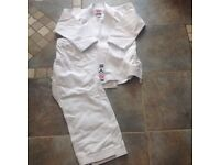 Boys Karate Bytomic Ronin uniform with belts, 120cm , great condition for sale
