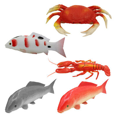 Artificial Fake Plastic Seafood Food Kitchen Party Table Decorative, - Seafood Party Decorations