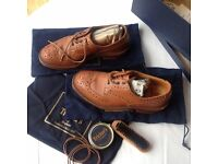 Tricker's mens brogues - hardly worn, still boxed