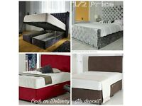 Full set crush velvet beds - HALF PRICE. Any size available and any colour. (Divan, Ottoman & King)