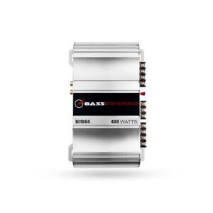 Bass Inferno BI1004 Car Amplifier 4-Channel 400W Car / Motorcycle Audio Amp