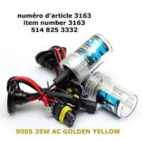 9005 HB3 XENON HID BULB 35W AC GOLDEN YELLOW
