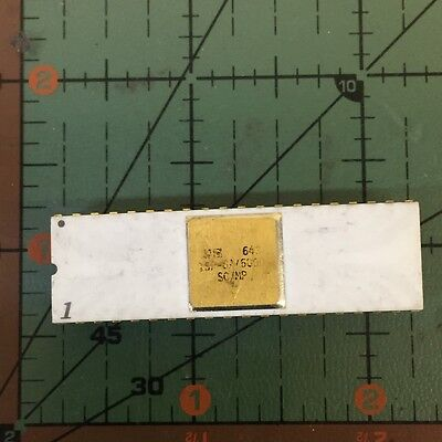 National Semiconductor Vintage Cpu Isp-8a500d Scmp Gold