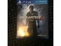 PICKUP ONLY. Uncharted 4 a theifs end Ps4