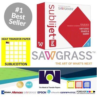 Sawgrass Virtuoso Sublimation Ink Cartridge Sg400sg800 Cyan 20 Sh Sublicotton