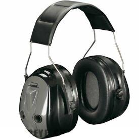 3M Peltor Optime Press To Listen Electronic Ear Defenders Black H530A