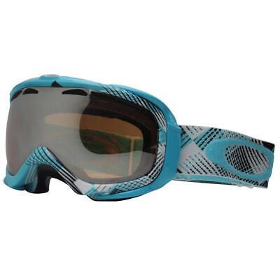 Oakley 57-025 Elevate Tempest Turquoise w Black Iridium Mens Snow Ski Goggles .