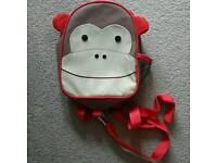 Skip Hop Toddler Reins Backpack Monkey - unused gift £8