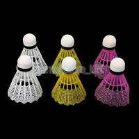 Magideal 6pcs Mixed Color Badminton Ball Shuttlecocks Sport Training Game - unbranded - ebay.co.uk