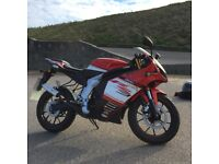 Rieju RS3 50 2 stroke geared motorcycle-Perfect first bike for 16 year old.
