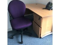 Smart office furniture - reception seating, cabinet, conference furniture for 10, desk and chair