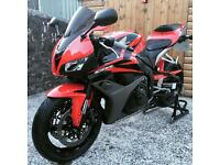 Honda Cbr 600rr red 2007 only 8776miles on clocks mint condition not (r6,zxr,gsxr)