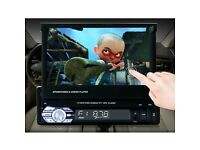 NEW HD 7'' 9601G Bluetooth Touch Screen Radio MP5 Player Telescopic With Car Backup Camera