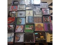 CD collection of music fan for sale; About 300 CD's, multitude of genres of more independent nature