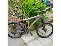 Full Suspension Downhill DH Free Ride Bike As New Condition Christmas Present?
