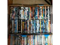 around 180 dvds