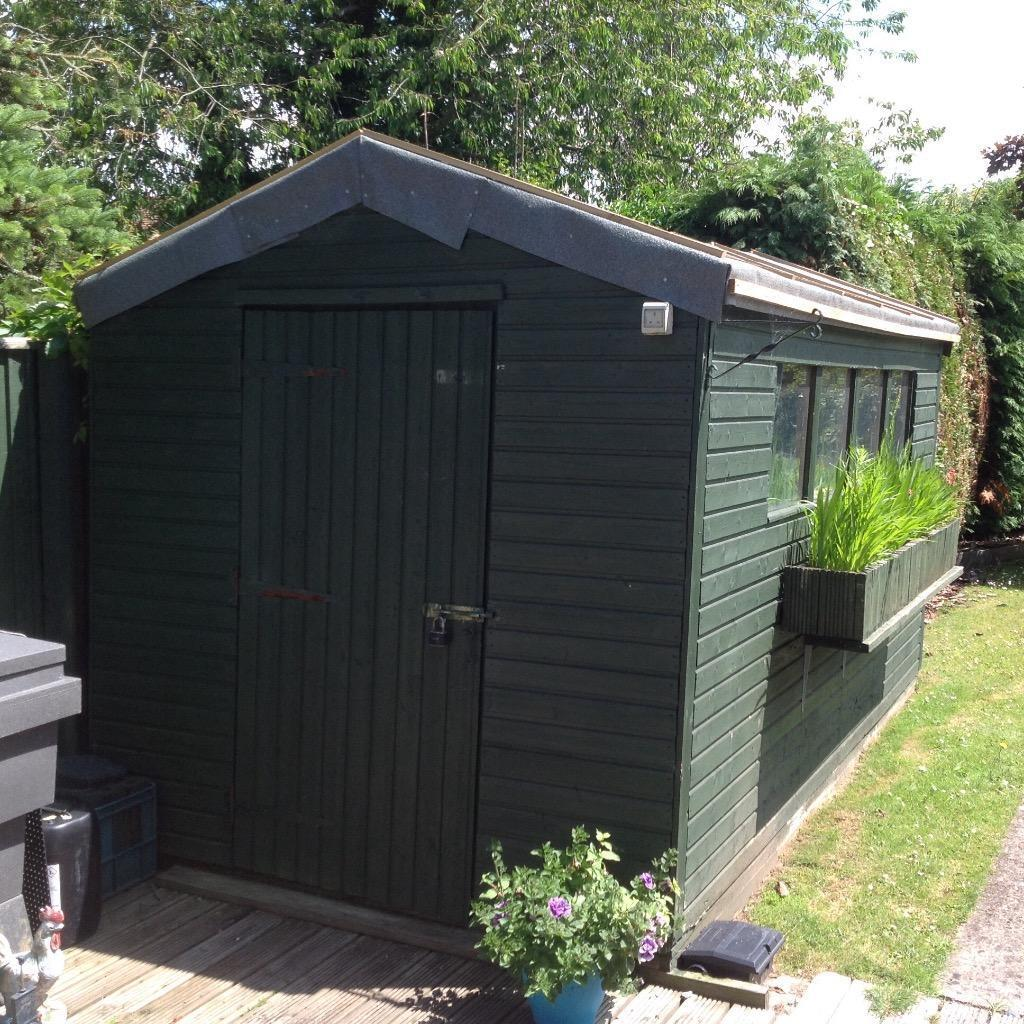 Garden shed tongued grooved 13 39 6 x 7 39 in norwich for Garden office norfolk