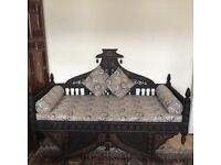 Beautiful 2/3 seater handcrafted solid wood sofa