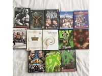 WWE DVD selection