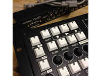 Sequentix Cirklon Sequencer with rack mount CV and GATE breakout box and manual