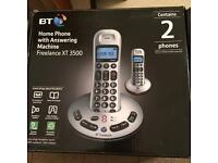 BT Freelance XT Home Phone / Answering Machine