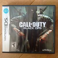Nintendo DS- Call Of Duty Black Ops game