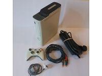 XBOX 360 WHITE CONSOLE 120GB HDMI..FULL SETUP A1!!