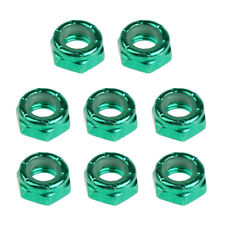 8x Axle Nuts Kingpin Nuts Replacement for Skateboard ...