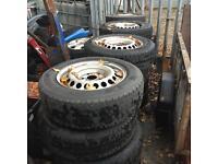 Vw t5 van/camper steel wheels