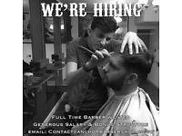 Barber Job Opportunity - Deptford London