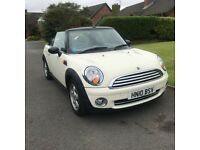 2010 Mini One Convertible 4 Seater 1.6 Petrol Clubman Cooper