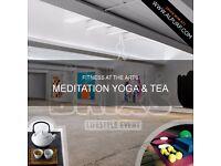 FITNESS AT THE ARTS - MEDITATION YOGA & TEA